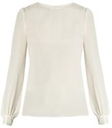Goat Binky silk-crepe blouse