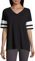 Flirtitude Champ Graphic T-Shirt- Juniors