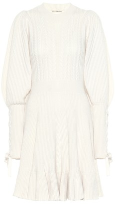 Ulla Johnson Renee wool and cashmere dress
