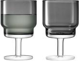 LSA International Slate Utility Wine Glasses, Set of 2