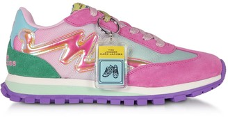 Marc Jacobs The Jogger Pink Nylon Womens Sneakers