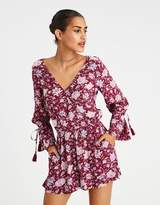 American Eagle Outfitters AE TIE SLEEVE ROMPER
