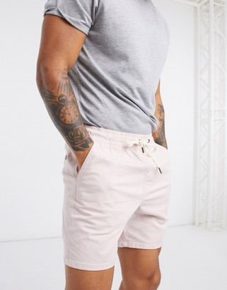 Hollister prep shorts in pink