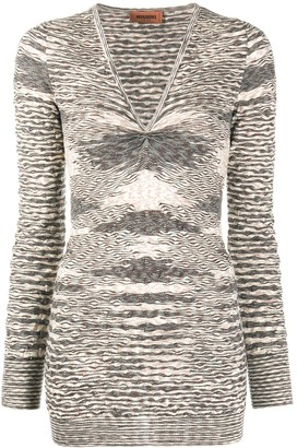 Missoni Knitted V-Neck Top