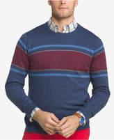 Izod Men's Stripe Crew Sweater