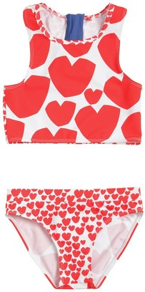 Stella McCartney Heart Print Recycled Lycra Bikini