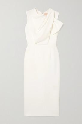 Roksanda Bow-detailed Crepe Dress - Ivory