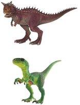 Schleich Carnotaurus & Velociraptor Set