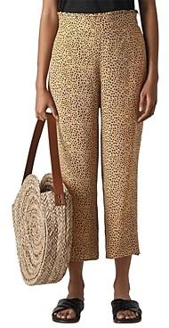 Whistles Leopard Print Pants