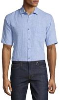 Toscano Short Sleeve Chambray Sportshirt