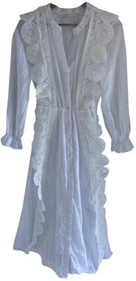 Maje Spring Summer 2020 White Cotton Dresses