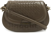 Bottega Veneta Umbria intrecciato leather shoulder bag