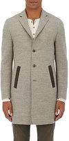 John Varvatos Men's Wool-Blend Overcoat-GREY