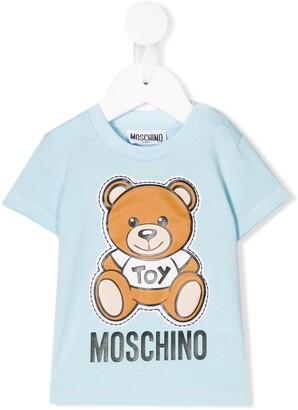 MOSCHINO BAMBINO toy bear print T-shirt