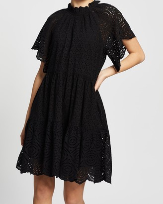 Y.A.S India Short Sleeve Dress