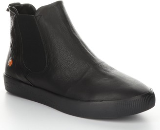 Fly London Leather Rubber Ankle Boots - Saha