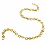 Torrini Etrusca - 18K Yellow Gold Small Chiselled Chain