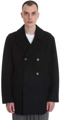 MACKINTOSH Broon Gm Coat In Black Wool