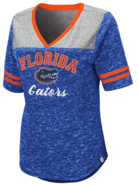 Colosseum Women's Florida Gators Mr Big V-neck T-Shirt
