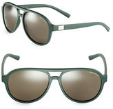 Armani Exchange 58mm Aviator Sunglasses