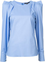 Derek Lam structured shoulders blouse - women - Cotton/Spandex/Elastane - 38