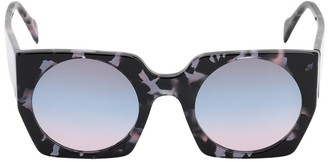 Andy Wolf Liesl Squared Acetate Sunglasses