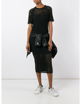Alexander Wang perforated jacquard T-shirt