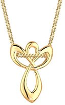 Goldhimmel 06400026 _52 Women's Necklace with Angel Pendant - 925 Silver 45 CM - 0112831514_45