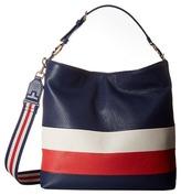 Tory Burch Duet Stripe Hobo Hobo Handbags