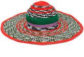 Missoni wide brim woven hat