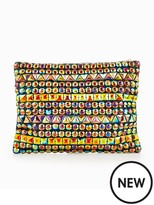 Forever Unique Jewelled Multi Way Clutch Bag