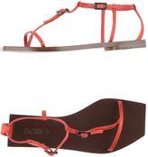 Acne Studios Toe strap sandals