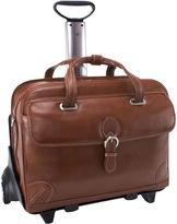 McKlein McKleinUSA Carugetto 15.4 Leather Detachable -Wheeled Laptop Briefcase