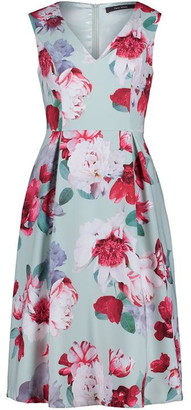 Vera Mont Full Skirt Midi Dress