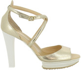 Hogan Buckled Platform Sandals