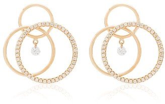 PERSÉE 18kt Yellow Gold Triple-Circle Hoop Earrings
