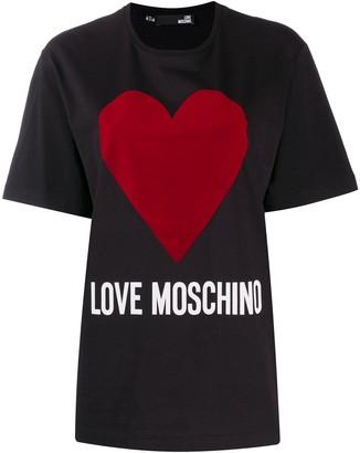 Love Moschino oversized logo T-shirt
