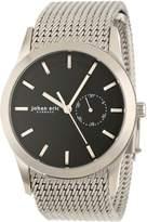 Johan Eric Men's JE1300-04-007 Agersø Stainless Steel Dial Date Mesh Bracelet Watch