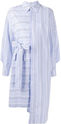 Henrik Vibskov Organic Cotton Striped Shirt Dress