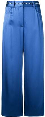 Peter Pilotto cropped palazzo trousers