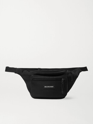 Balenciaga Explorer Logo-Appliqued Canvas Belt Bag
