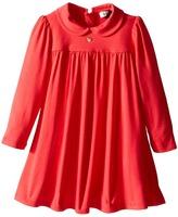Armani Junior Long Sleeve Jersey Dress Girl's Dress