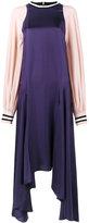 Roksanda asymmetric hem maxi dress