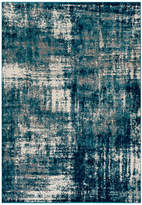 """Surya Pepin Modern Aqua, Bright Blue Area Rug, 5'3""""x7'6"""""""