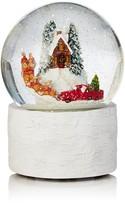 Bloomingdale's Santa & Reindeer Musical Snow Globe - 100% Exclusive