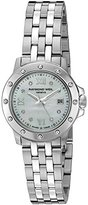 Raymond Weil Women's 5399-ST-00995 Tango Steel Mother-Of-Pearl Diamond Crystal Dial Watch