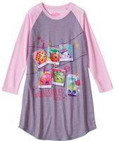 Girls 4-12 Shopkins Raglan Girls Rule Nightgown