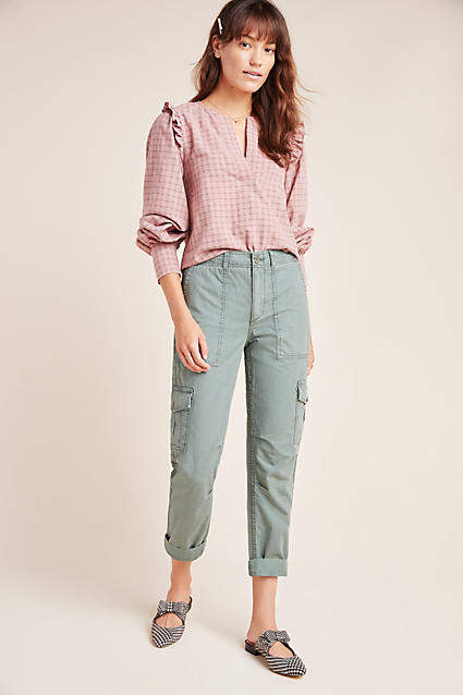 Anthropologie Nina Relaxed Cargo Pants