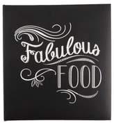 "Eccolo EccoloTM ""Fabulous Food"" Recipe Keeper in Black"