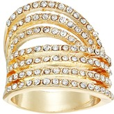 GUESS Look of Six Dainty Pave Bands Ring Ring